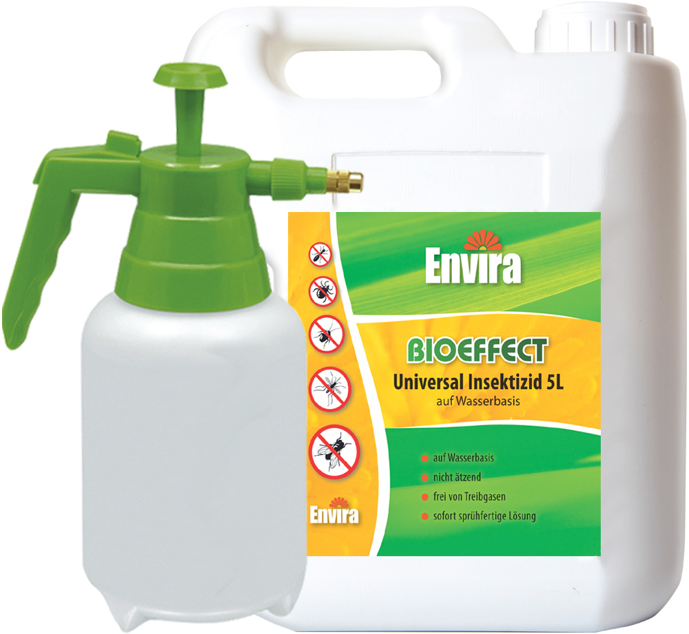 bioeffect insektizid spray 5ltr 2ltr spr her aus chrysanthemen. Black Bedroom Furniture Sets. Home Design Ideas