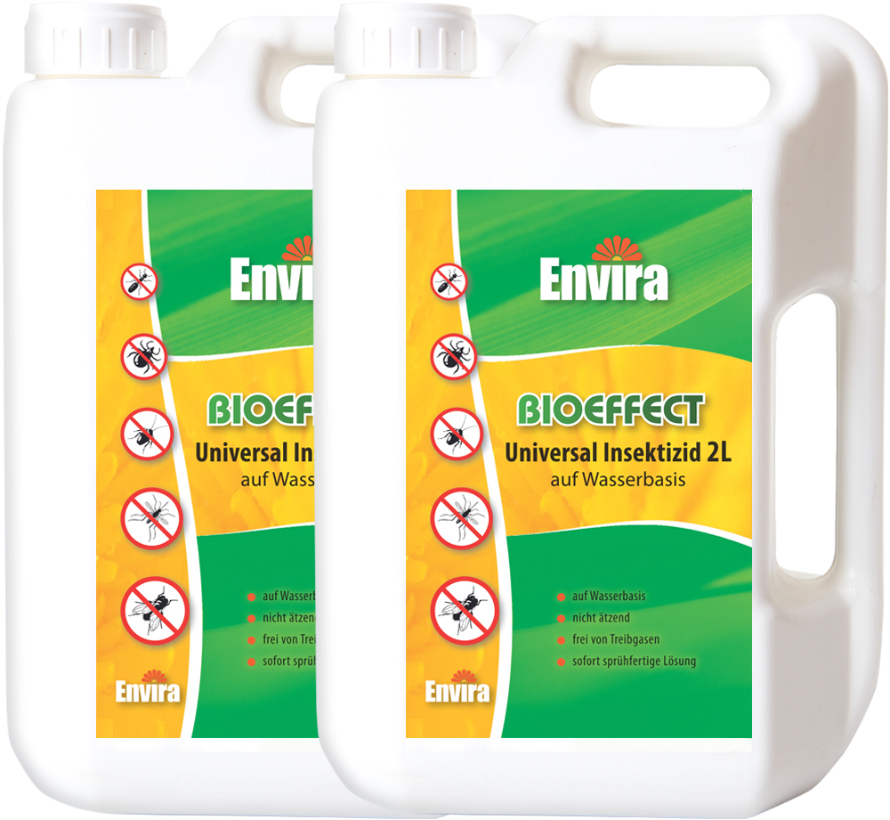 envira bioeffect spray gegen insekten 2x2ltr kraftvolles biozid. Black Bedroom Furniture Sets. Home Design Ideas