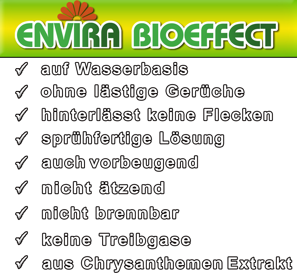 envira bioeffect insektizid 2ltr 2x500ml ist spitzenklasse. Black Bedroom Furniture Sets. Home Design Ideas